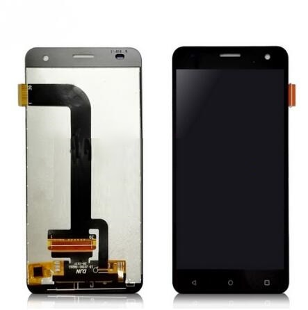 شاشة LCD تعمل باللمس بديلة ، أسود ، أبيض ، ذهبي ، لـ Fly fs504