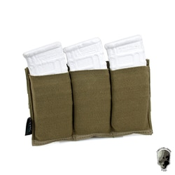 Тройная сумка TMC M4, быстрый журнал MOLLE, страйкбольная Wargame Gear, пейнтбольное оборудование, тактический тройной футляр для журнала 2269