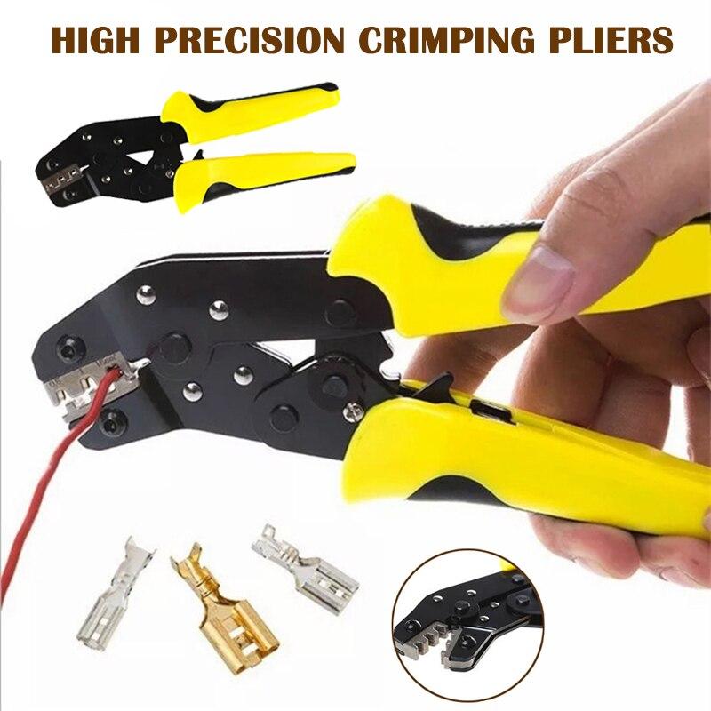 Alicates de crimpado de alambre de alta precisión multifunción Plug-in trabajo de ahorro de engaste QJS Shop