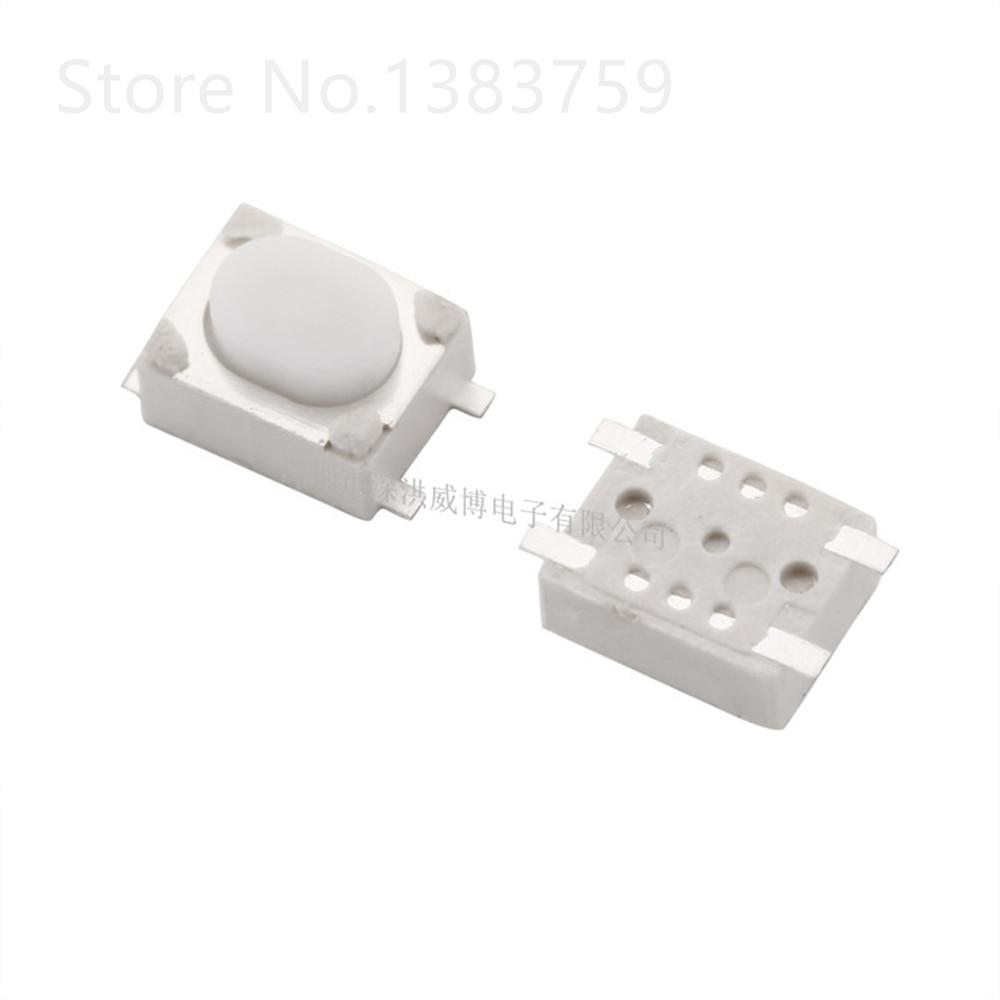 100 piezas 3*4*2,5 Botón de cigarrillo electrónico tacto interruptor 4,2*3,2*2,5 desbloqueo de llave de coche interruptor de control remoto