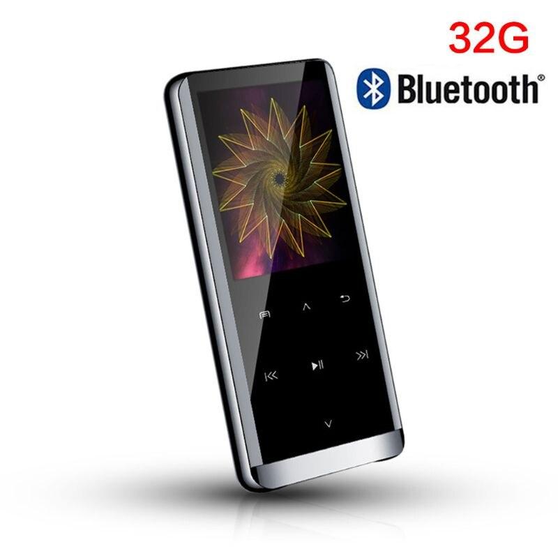 Nuevo Mini portátil M13 Bluetooth reproductor de MP3 Walkman reproductor de música sin pérdidas HIFI deporte música Media grabadora de voz