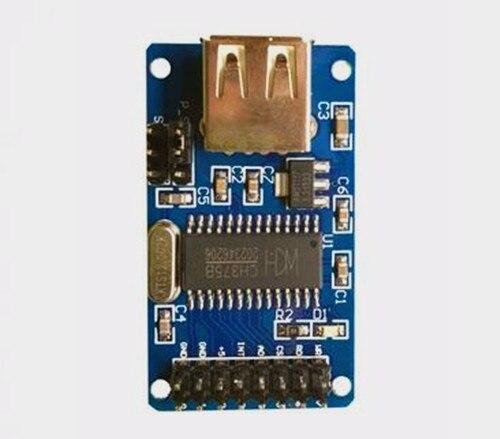 Free Shipping!!! CH375 CH375B USB Module/U Disk Module