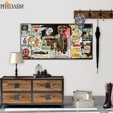 Toile affiche murale de Style Graffiti abstrait   Affiche et toile imprimée, tableau décoratif pour décoration de la maison, du salon