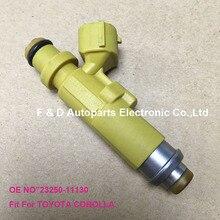 Injecteurs de buses de carburant automobile dorigine pour TOYOTA Corolla E11 1.4L 16V Injecteur 23209-11130 23250-11130