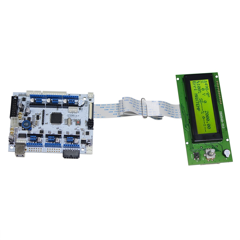 Geeetech GT2560-ReV-B و LCD 2004 كومبو كيت