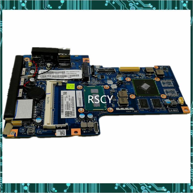 Original para Lenovo A540 AIO placa base LA-B031P con i7-5557U CPU GT950M GPU DDR3L FRU 5B20H71228 MB prueba