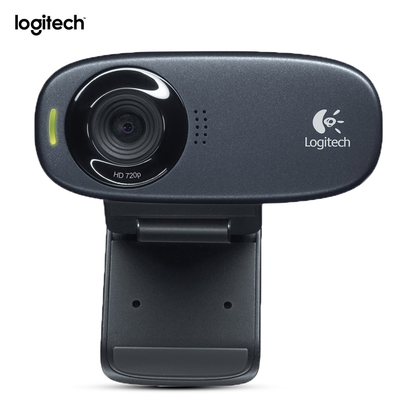 لوجيتك-كاميرا ويب C310 ، كاميرا Usb للكمبيوتر المحمول ، HD 720p ، مع ميكروفون مدمج ووظيفة القوة التلقائية