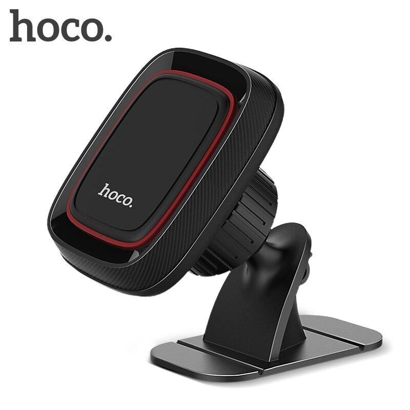 HOCO магнитный держатель телефона в автомобиль для iPhone X XR XS Max 360 Вращающийся держатель лобового стекла Автомобильный держатель для мобильного телефона в автомобиле GPS подставка
