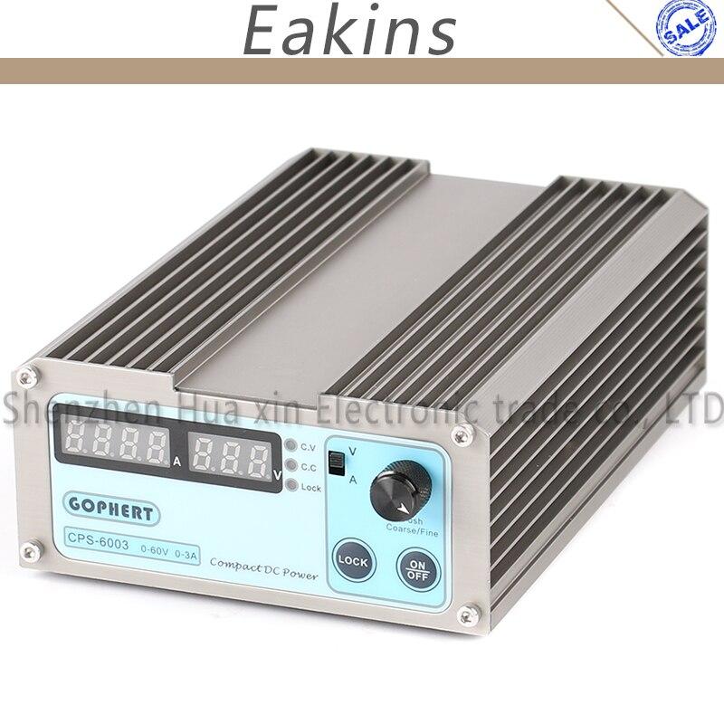 GOPHERT الدقة المدمجة الرقمية قابل للتعديل مفتاح صغير تيار مستمر امدادات الطاقة OVP/OCP/OTP منخفضة الطاقة 60 فولت 3A 110 فولت-230 فولت 0.01 فولت/0.01A