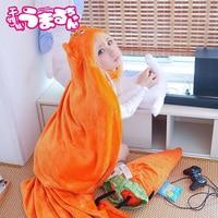 High Quality Himouto! Umaru-chan Cloak Anime Umaru Chan Doma Umaru Cosplay Costume Flannels Cloaks Blanket Soft Cap Hoodie
