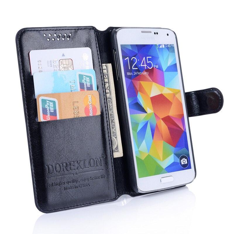 Wallet Leather Case For BQ Strike Mini BQ-4072 Luxury Retro Flip Coque Phone Bag Cover For BQ 4072 Strike Mini Cases Funda Stand