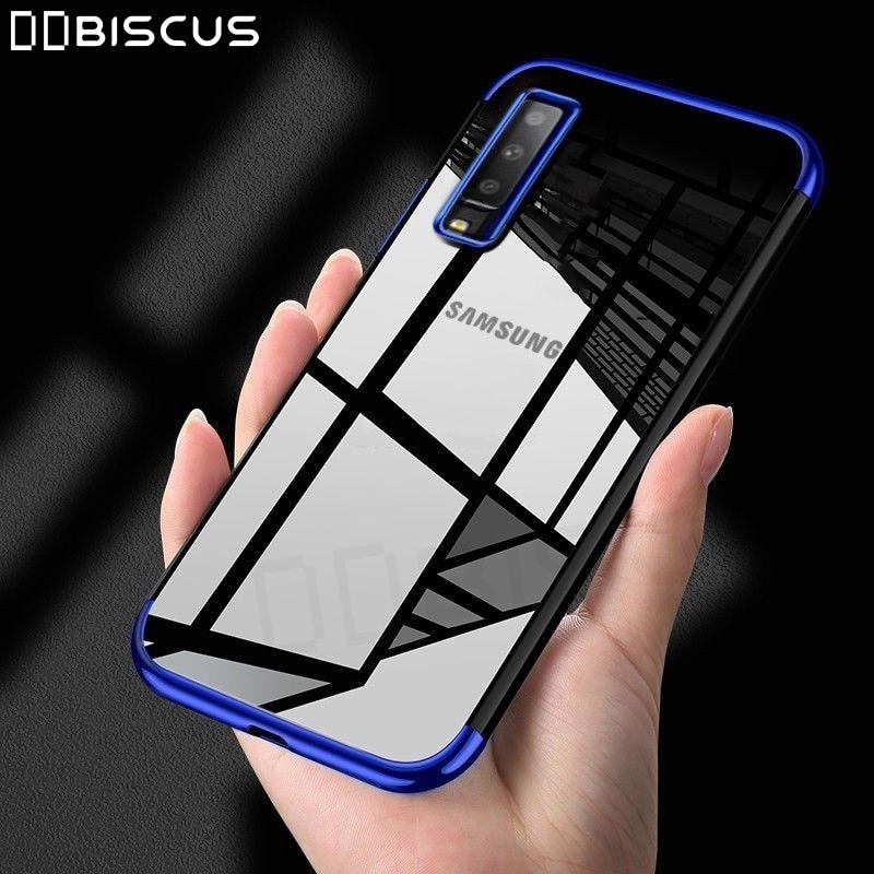 Para Samsung A7 2018 6,0 Ultra-delgada TPU Capa suave de silicona caso para el modelo Samsung galaxy A7 2018 cubierta SM-A750F/DS A730F 7 2018
