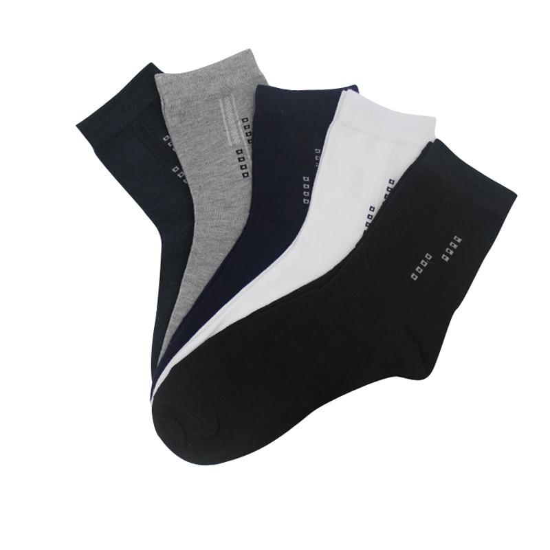 Носки мужские, 10 шт. = 5 пар, летние, Осенние, модные, однотонные, деловые, художественные, Короткие Носки мужские, хлопковые носки с сорняками, ...