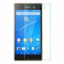 Film de protection décran en verre trempé pour Sony Xperia M5/M5 Aqua/M5 Dual E5603 E5606 E5653 E5633 E5643 Film de protection en verre 5