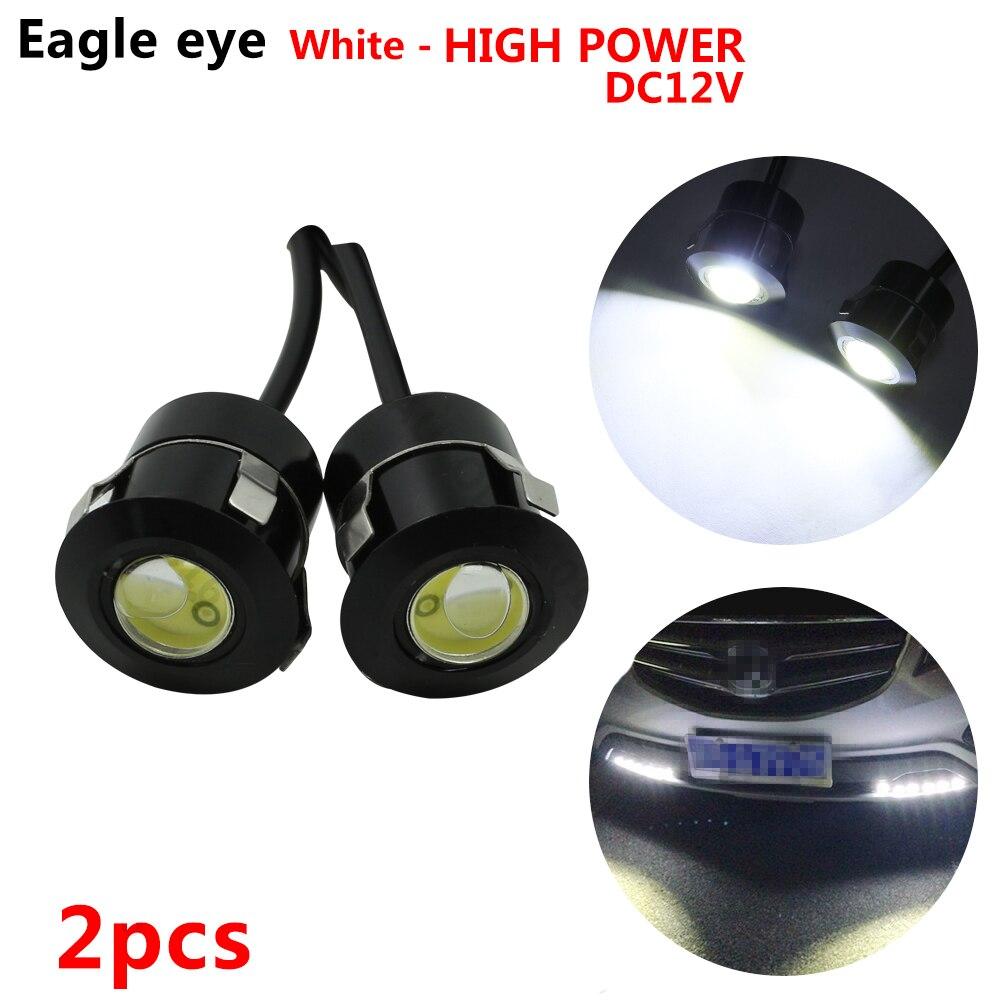 2 шт. LED Eagle Eye 12 в 7 Вт DRL LED Обратный сенсор лазерный Водонепроницаемый Авто Автомобильные дневные ходовые огни для Renault Opel BMW LADA и т. д.
