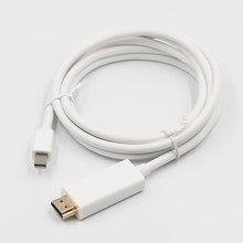 1.8m Thunderbolt 1/2 Mini Displayport DP vers HDMI adaptateur de câble Mini DP vers HDMI câble convertisseur vers HDMI adaptateur de câble