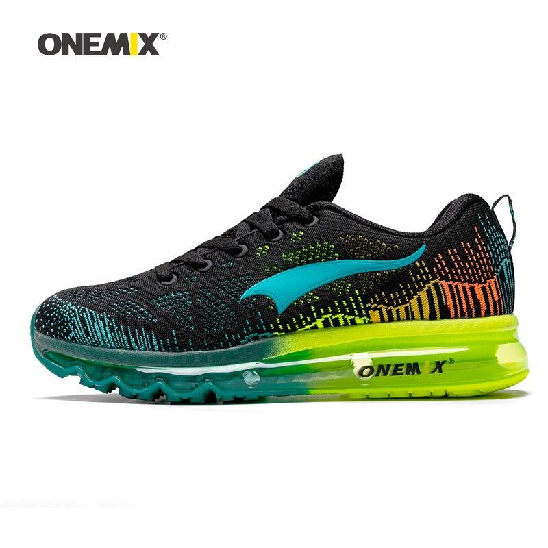 ONEMIX-Zapatillas de malla tejidas de diseñador para hombre y mujer, calzado de tendencias de tenis, deporte, viajes al aire libre, caminar, 2020