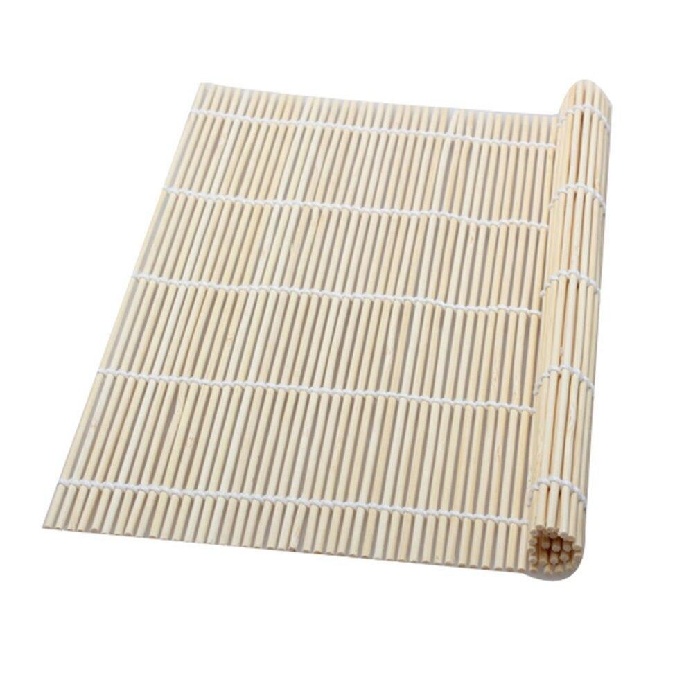 Estera de bambú, rodillo rodante para Sushi, fabricante de Sushi saludable, herramientas de cocina DIY, fácil uso