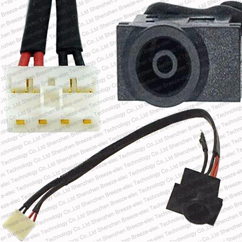 Toma de corriente AC DC para ordenador portátil y arnés de conector de Cable para Samsung NP-R518 NP-R519 serie NP R518 NP R519