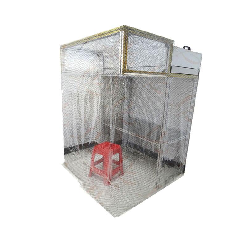 Ly 920 padrão oca non-dust mesa de trabalho com unidade de filtro do ventilador (ffu) tamanho 1800*1200*1200mm anti-estático esteira 120*60mm