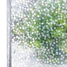 Película de PVC 3D para ventana, piedra adhesiva estática, Pegatina autoadhesiva de privacidad decorativa para ventana, sin pegamento, vitral para dormitorio