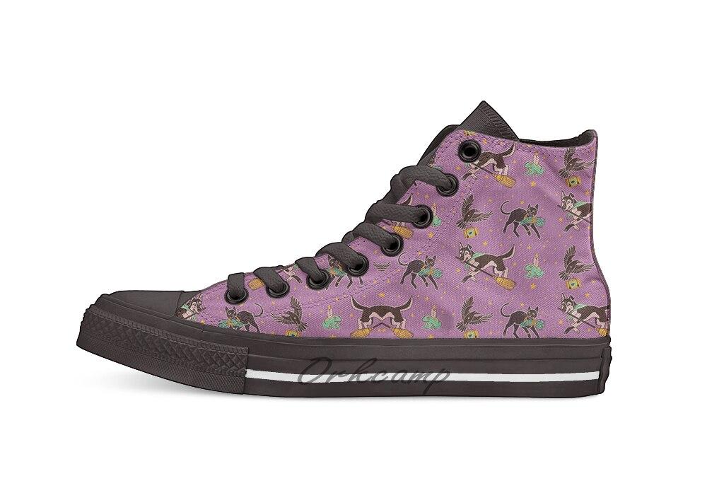 Familiar Friends High Top Canvas Shoes Flat Casual Custom Unisex Sneaker Drop Shipping