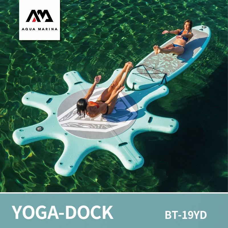 Tabla de Sup aqua-marina para Yoga, tabla DHYANA para Yoga, tabla de surf, tabla de paddle para deportes acuáticos, plataforma 290cm