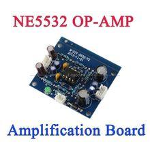DYKB NE5532 OP-AMP Preamplifier Signal Amplification Board DC single power supply 12V-35V FOR Bluetooth Pre-amp