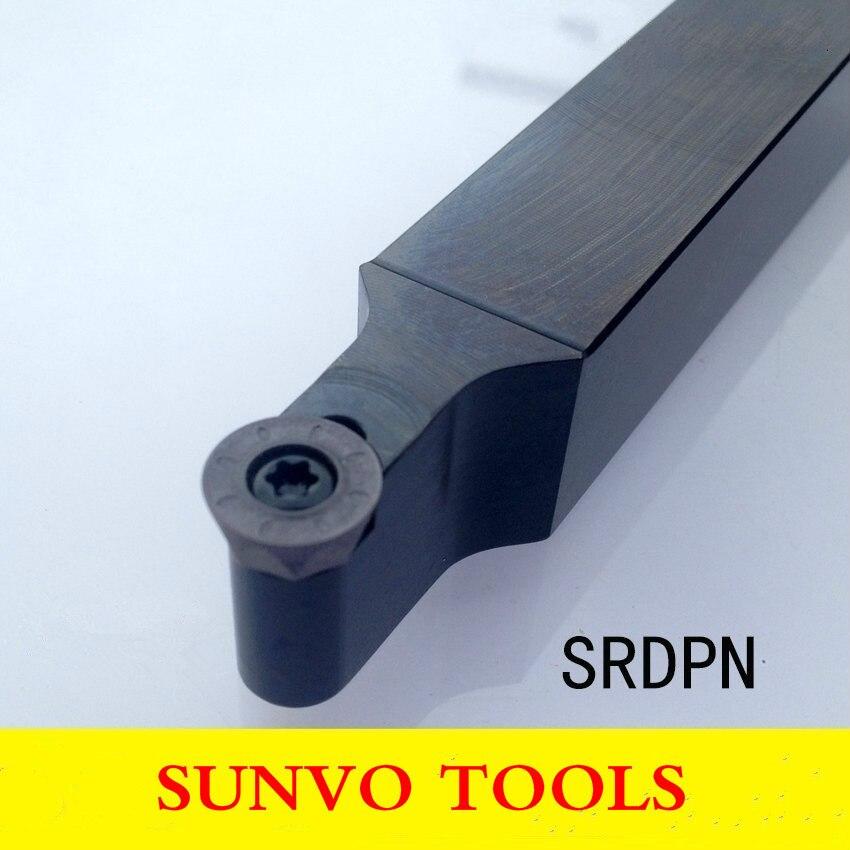 SRDPN 1616H08/1616H10 1616H12 токарные инструменты с ЧПУ винтовое крепление Внешний поворотный держатель использование RPMT RDMT RPGT 10T3/08T2/1204 1208