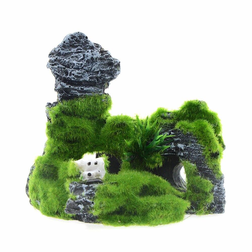 Rocas de Acuario artificiales, cueva de peces, piedras de tanque, decoración de...