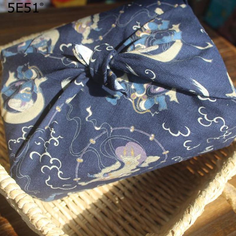 Japanese style furoshiki cotton 100% /handkerchief wrap the cloth cat printed /Many Uses
