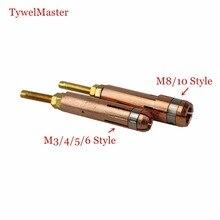 Pince de mandrin de soudage de goujons M3 M4 M5 M6 M8 M10 pour poignée de soudage de goujons