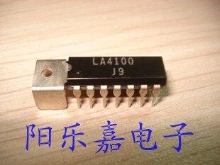 10PCS/LOT NEW LA4100 DIP-14 Home Appliance Chip Audio Circuit