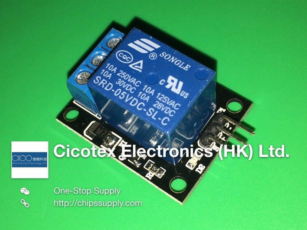 KY-019 5V 1 Módulo de canal de relé placa escudo para PIC AVR DSP brazo arduino relé de SRD-05VDC-SL-C