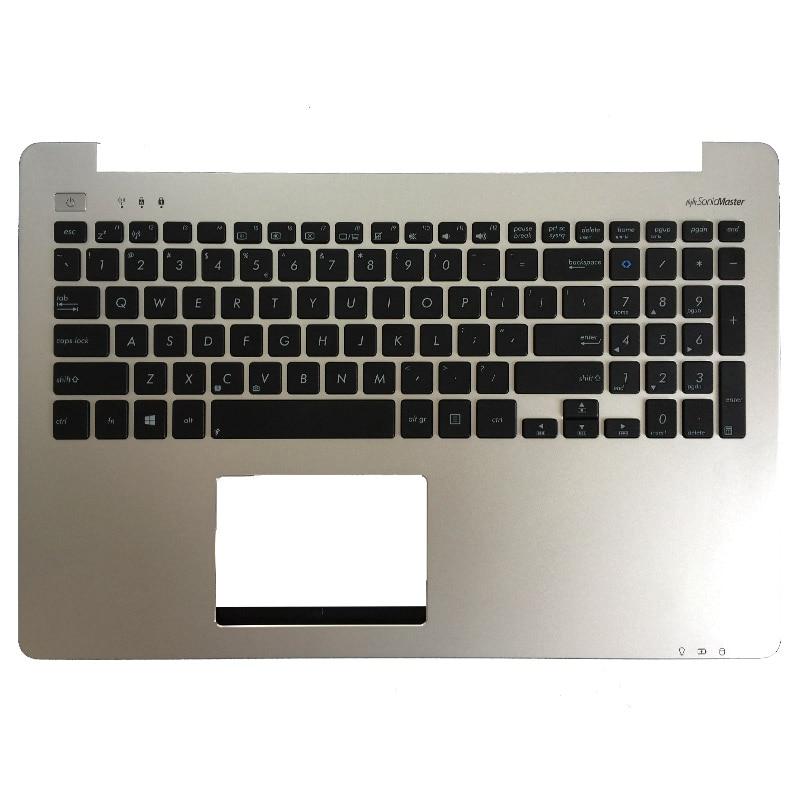 Новая американская Клавиатура для ноутбука ASUS S551 K551 S551L R553L S551LN V551 K551L с динамиком для поддонов, верхняя оболочка