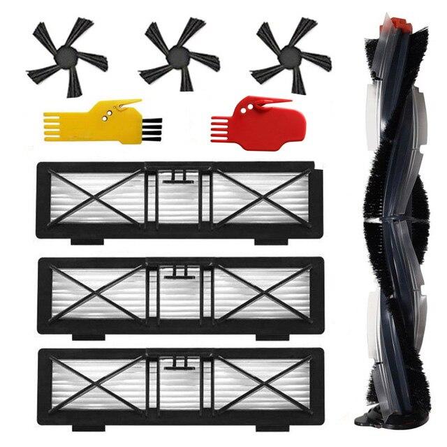 Nuevo rodillo y Cepillo Lateral y filtro para Neato Botvac D series D70 D75 D80 D85 conexión D3 D5 D7 set aspiradora piezas de automóvil