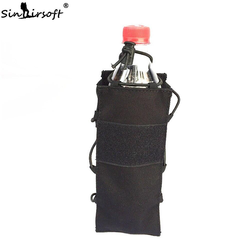 SINAIRSOFT sac à eau tactique bouteille deau escalade décharge Airsoft élastique bouilloire poche armée Durable voyage randonnée chasse