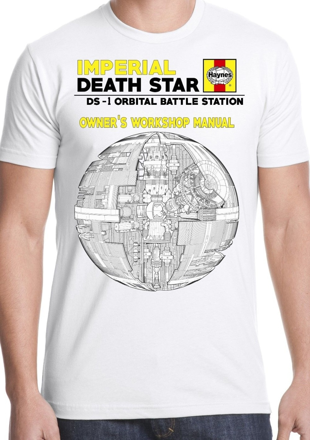 Tee-shirt Star Wars Strom Trooper Jedi Sith dark manuel Forcesummer 2019 coton hommes mode été Style