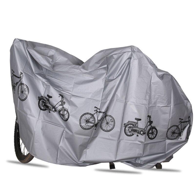 2 colores cubierta de bicicleta impermeable al aire libre UV Protector MTB caso de la bicicleta cubierta a prueba de lluvia para la motocicleta Scooter