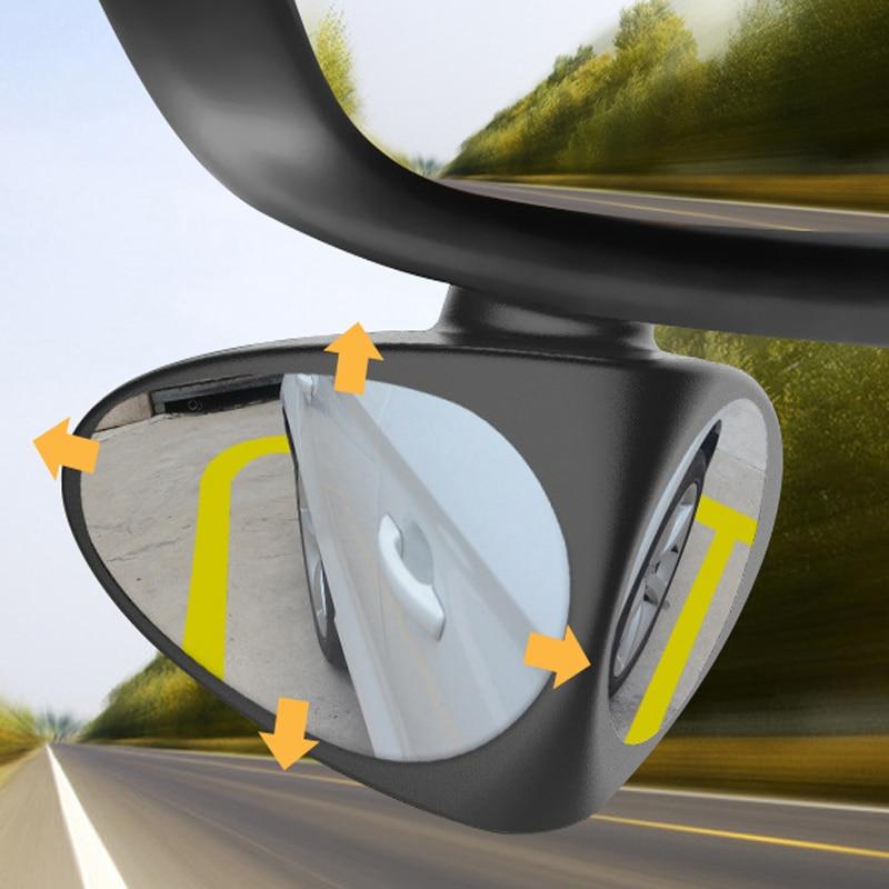 Carro Espelho de Ponto Cego Grande Angular Espelho Acessórios Para Hyundai accent solaris i20 i30 ix35 elantra santa fe tucson getz
