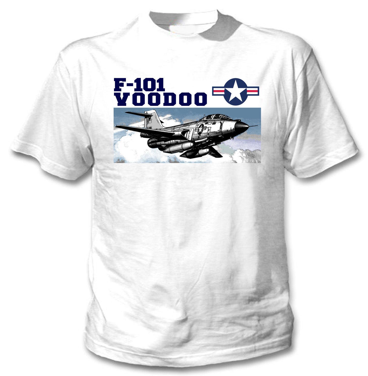 2019 F-101B avión de combate vudú. -Nueva camiseta gráfica increíble-S-M-L-XL-XXL