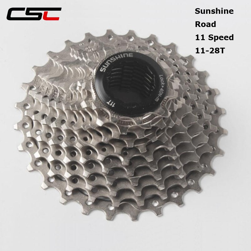 CSC bicicleta de carretera 11s Cassette rueda libre 11-28T bicicleta piezas 22s 11 velocidad volante rueda dentada para SH1MAN0 105 5800 UT 6800 DA 9100