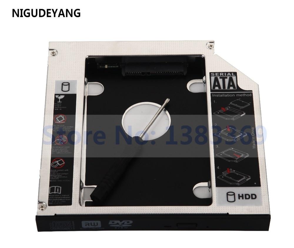 NIGUDEYANG 2nd Disco Duro SSD HDD SATA Caddy para Acer Aspire 8951...