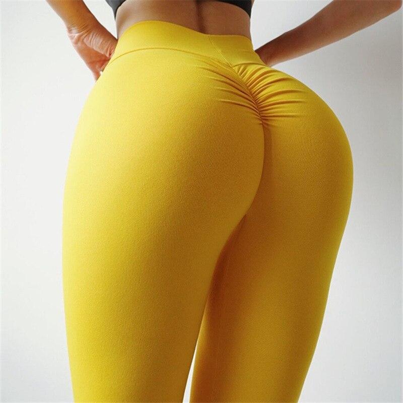 Mallas deportivas para mujer, para correr, cintura alta, transpirables, de secado rápido, pantalones de Yoga de alta calidad