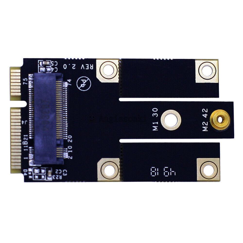 WWAN M.2 M2M NGFF B clave módulo Mini PCI-E Tarjeta de adaptador de módulo convertidor para HUAWEI ME906 ME936 Sierra EM7355 EM7305 EM7455