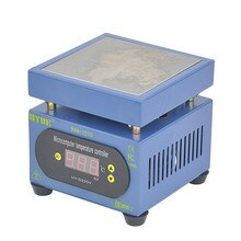 220 V 300 W constante temperatuur verwarming tafel Mobiele telefoon split screen thermostaat PCB hot plate preheating station 100mm * 100mm