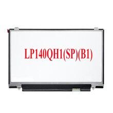 Nowy cienki/a LCD wyświetlacz LED zamiennik dla Lenovo Thinkpad X1 węgla Gen 2 LP140QH1-SPB1 LP140QH1 (SP) (B1) 14-cal