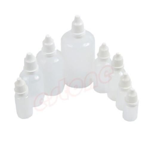 U119 70 pçs/lote vazio squeezable plástico aplicador conta-gotas garrafas para olho líquido quente