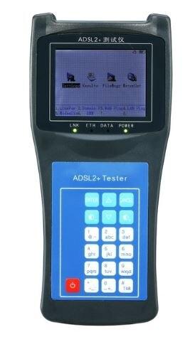 Новый профессиональный ADSL2 + прибор для тестирования ADSL измеритель широкополосного трафика с функцией DMM высокое качество WAN LAN PING Meter RY2100