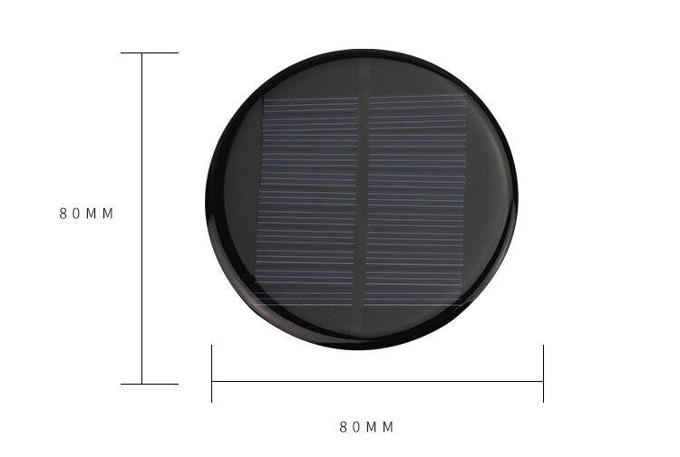 Panel Solar epoxi de 5V 6V 12 V, tamaño pequeño, mini Célula de panel solar de alta calidad para cargador de batería de juguete con luz solar DIY, etc.